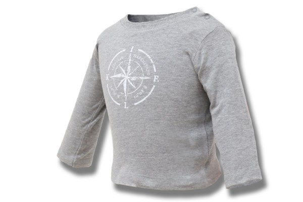Kompass Kiel Baby Shirt